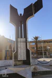 Liste des Chouhada de Béchar à la place du 1er Novembre 1954