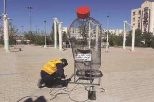ARRÊT SUR IMAGE - Vu à El-Eulma (Sétif): Collecte et recyclage des bouteilles en plastique