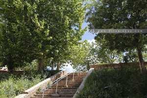 Escaliers menant de Bab Wahran vers le Grand Bassin