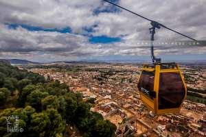Téléphérique de Tlemcen, vue du quartier de Boudghene