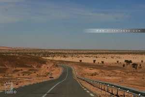 Oued Boulaadam, sur la route de Tindouf