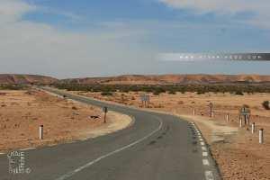 Oued Daoura un grand oued marocain, se terminant en Algérie
