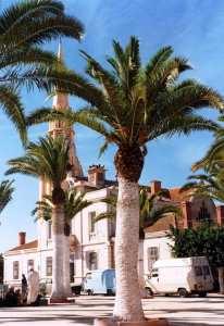 Ain Temouchent- Er Rahel- La Mairie et l'Eglise