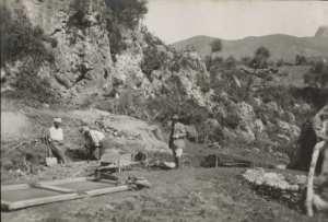 Ensemble des fouilles à Ali Bacha