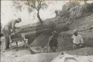 Fouille dans la ferme d'Ali Pacha (Béjaïa)