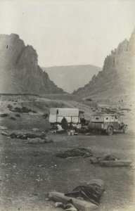 Camp à El Kantara en 1930