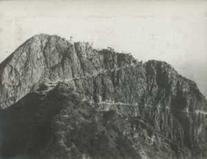 Cap Carbon et phare en 1927