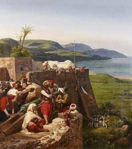 Bône Ex Annaba par Horace Vernet