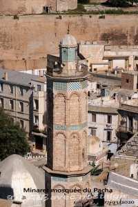 Oran-minaret mosquée de pacha