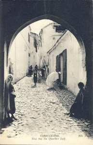Constantine- une rue du quartier juif