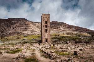 Msila- Vestiges de la Kalâa de Beni Hammad.