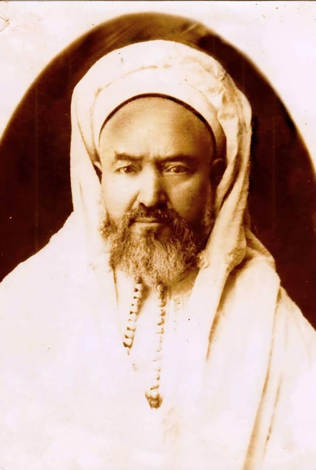 Cheikh Mohammed Ben Yelles, cheikh de la confrérie Derkaoua à Tlemcen.