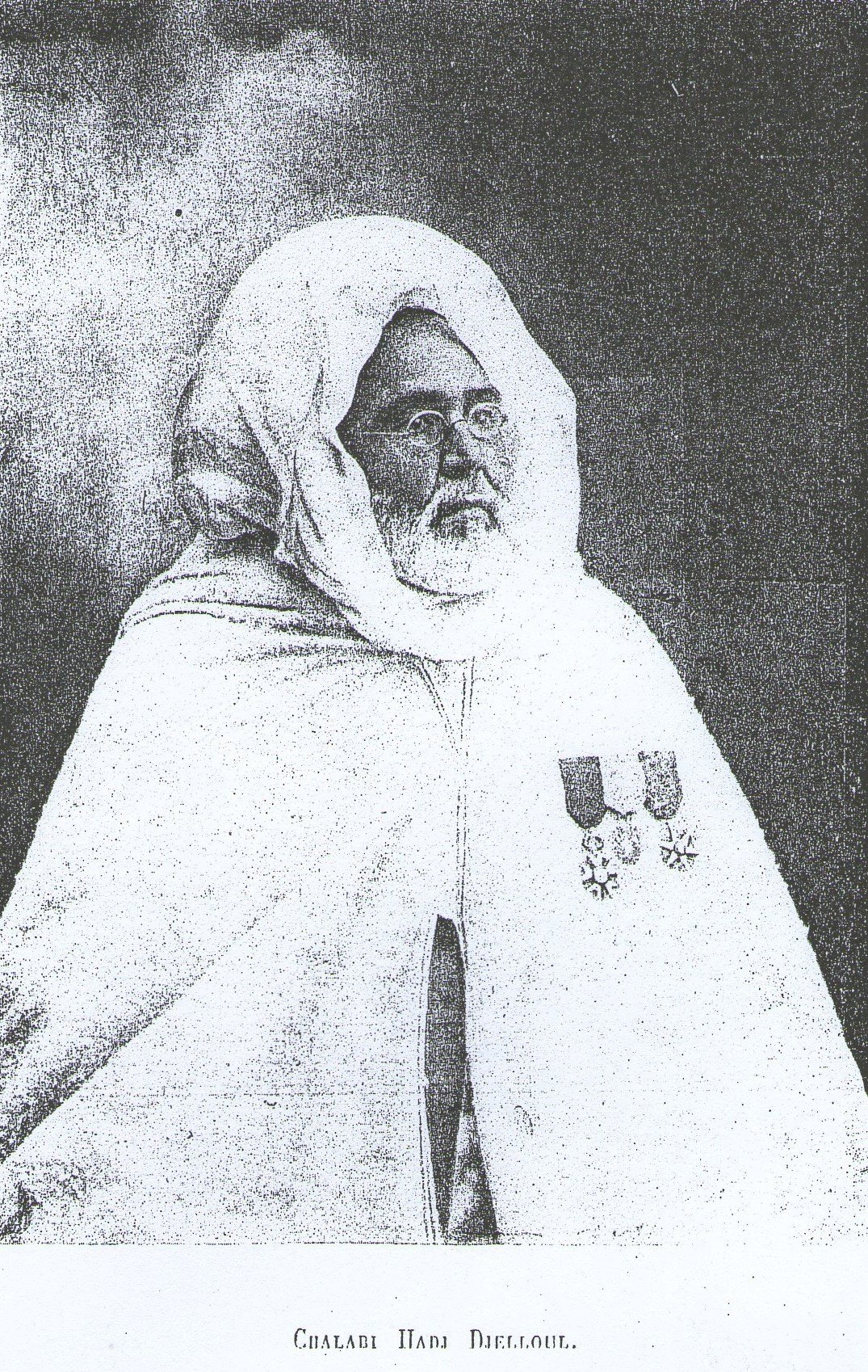 Cheikh Hadj Djelloul Chalabi. Mufti de Tlemcen