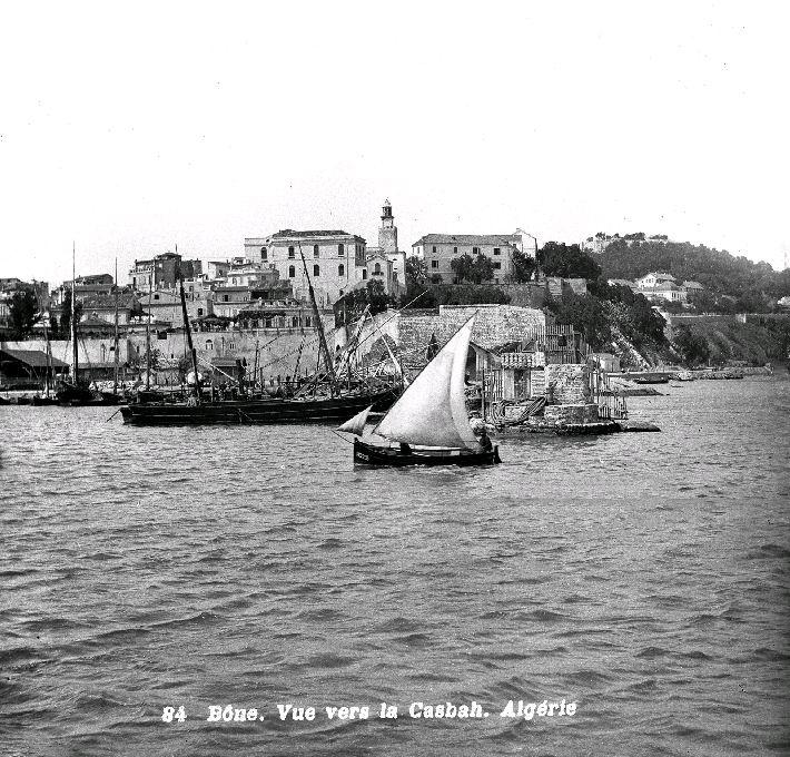 Annaba (ex-Bone - Algerie). Vue vers la casbah vers 1890