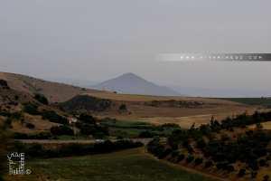 Djebel Sidi Kassem, vu de Sidi Ben Adda