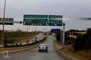Entrée de la ville de Ain Temouchent en venant de Tlemcen