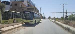 Stationnement abusif d'un bus en panne depuis plus de 3 mois