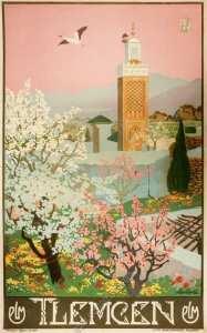 Affiche ancienne originale PLM Tlemcen-posterissim