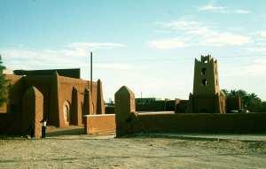 Vue de la ville d'Adrar.