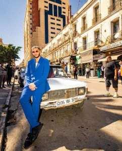 دي جي سنايك في شوارع وهران .