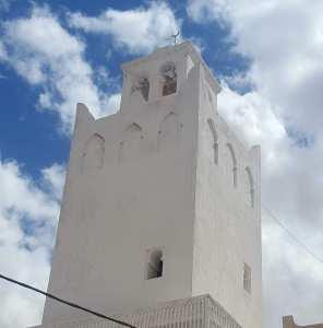 Minaret de la Zaouia de Sidi Salem à El Oued
