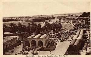 Vue à partir du minaret de Sidi Salem à El Oued