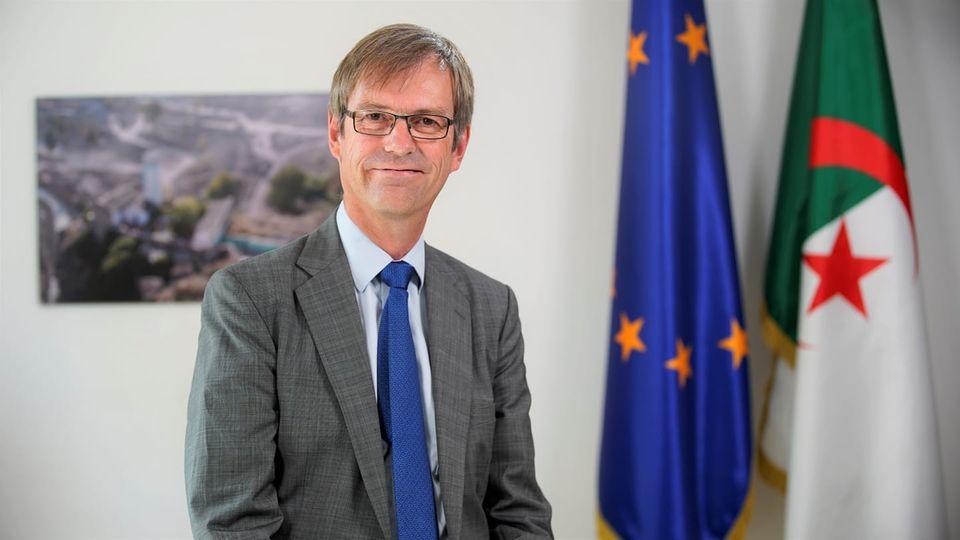 M. Thomas Eckert, le nouvel Ambassadeur, chef de la Délégation de l'Union européenne en Algérie