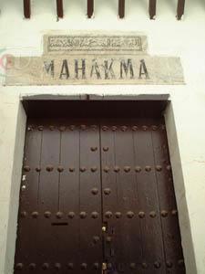 TLEMCEN-----JUSTICE MUSULMANE MAHAKMA