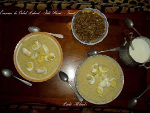 Couscous de Ouled Lakred -Sidi Hosni - Tiaret