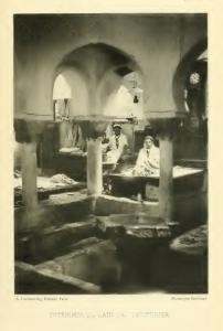 Intérieur du bain des teinturiers