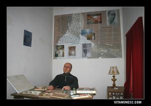 Reconstitution de l'atelier de Mohamed Khedda