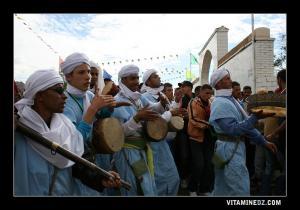 Karkabou et Derbouka, Folklore à la waada de Sidi Mhamed Benouda