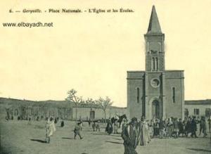 El Bayadh, l'eglise et les ecoles