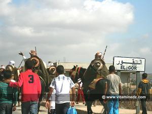 Entrée d'El Gor, le jour de la Waada