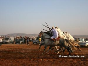 وعدة سيدي طاهر أولاد ورياش في طبعتها 2011