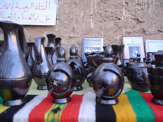 poterie noire de Tamentit Adrar