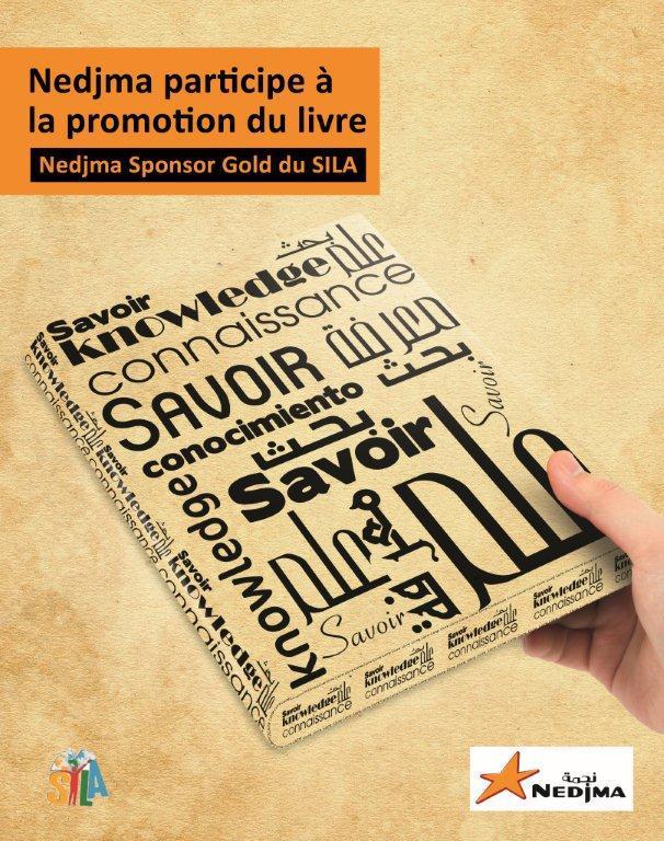 Nedjma participe � la promotion du livre
