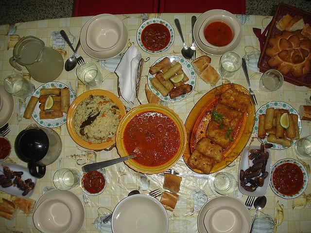 Table De Ramadan Ce Jeudi Blida