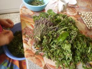 Les plats alg rie recettes de cuisine photos for Table yennayer