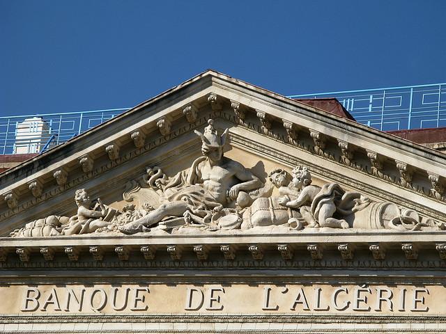 Banque d 39 alg rie au centre ville de b jaia for Banque exterieur d algerie
