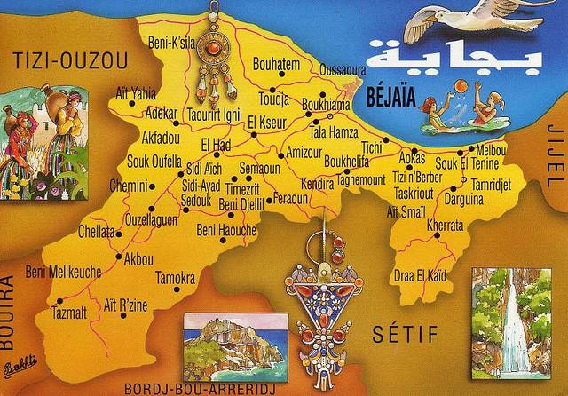 Carte De La Ville De Tizi Ouzou