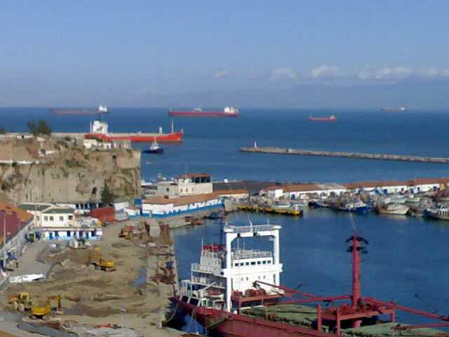 le port de Béjaia