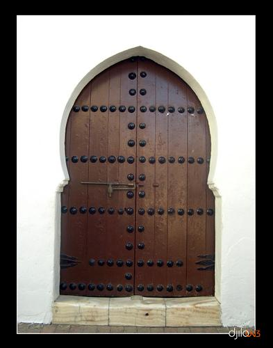 L'Une des 7 Portes de la Grande Mosqu�e de Tlemcen