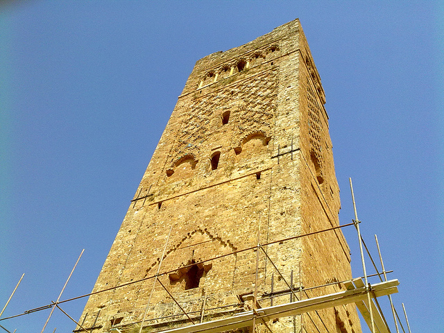 Rénovation d'une des Tpurs de Mnasourah
