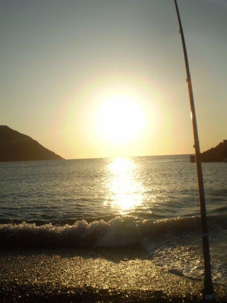 Coucher du soleil à Beni Haoua 4