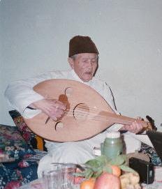Cheikh Redouane dans l'une de ses dernieres apparitions