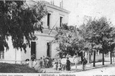 Cheraga, la gendarmerie