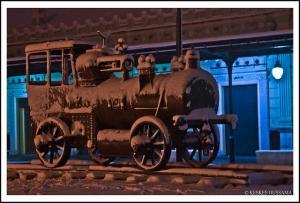 Locomotive de l'époque coloniale