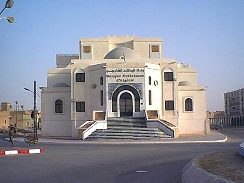 Banque exterieure d 39 alg rie touggourt ourgla ouargla for Banque exterieur d algerie
