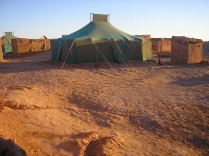 Camp des réfugiés
